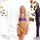 Elsa Jean in 'Halloween Strip Tease'